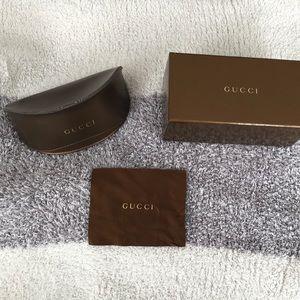 Gucci sunglasses box and case